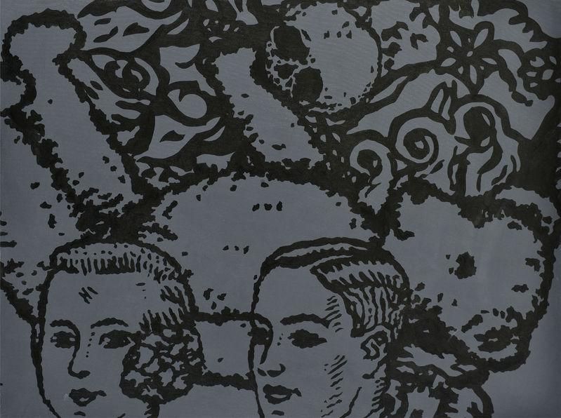 ad978d789 2005. Akryl na plátne. 190 x 240 cm. (88. aukcia súčasného umenia, 27. 10.  2009) 7 000,- € Pianoctial (spoločne s Ivanom Divišom a Ladislavom Terenom).