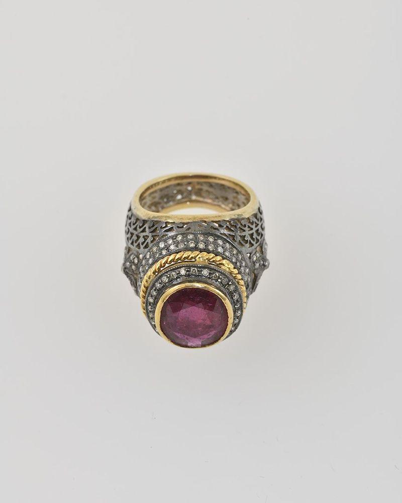 Aukčná spoločnosť SOGA spol. s r.o. - Diela Diamantový prsteň s ... c5b0689e455