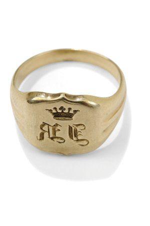 Aukčná spoločnosť SOGA spol. s r.o. - Diela Pánsky pečatný prsteň ... 8465bedd0a2